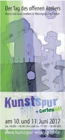 Kunstspur Broschüre 2017