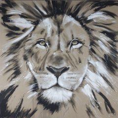 Löwe - zeitgenössische Kunst von Stefanie Rogge
